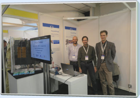 Future Wings stand at the Aerodays 2015 conference